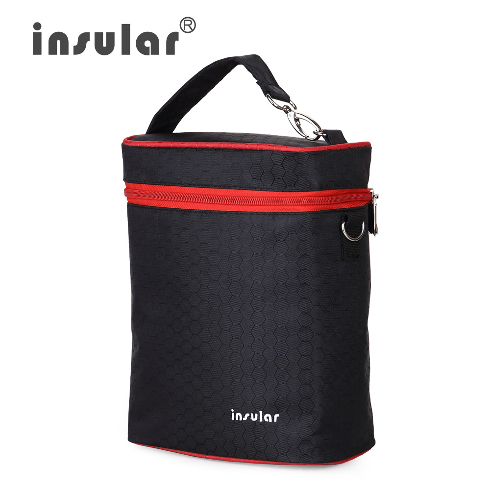 Brand Insular 420D Nylon Baby Feeding Bottle Insulation Bags Thermal Bottle Bags Baby Diaper Stroller Cooler Changing Bags