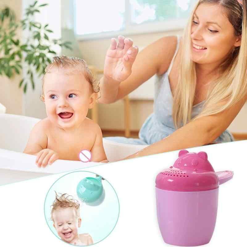 תינוק אמבטיה מקלחת כוס חמוד קריקטורה כביסה שיער ביילר ממטרה אמבטיה כלי אמבטיה מקלחת מוצרי תינוק לשטוף כוס ציוד רחצה