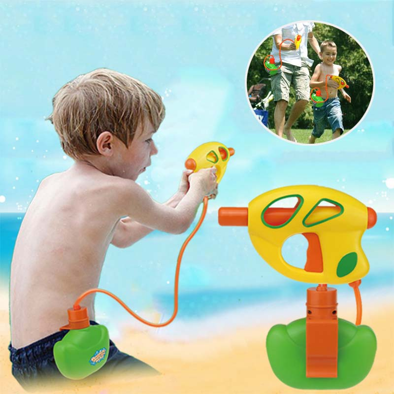 Summer Children Toys Waist Bag Squirt Water Spraying Squeeze Water Kids Swimming Pool Outdoor Game Toy Gifts YH-17