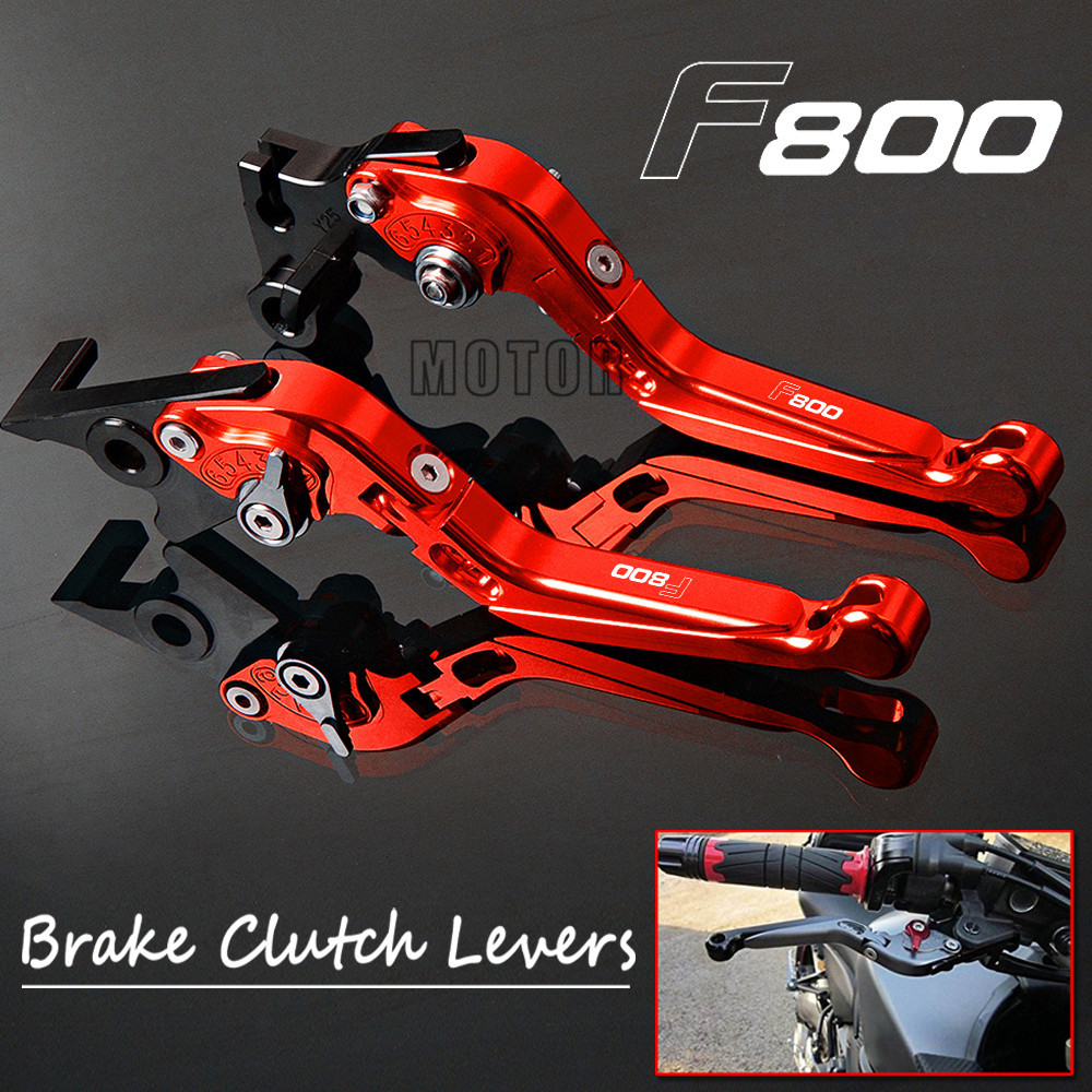 Motorcycle CNC Brake Clutch Levers For BMW F800GS Adventure F800GT F800R F800S F800ST Adjustable Foldable F