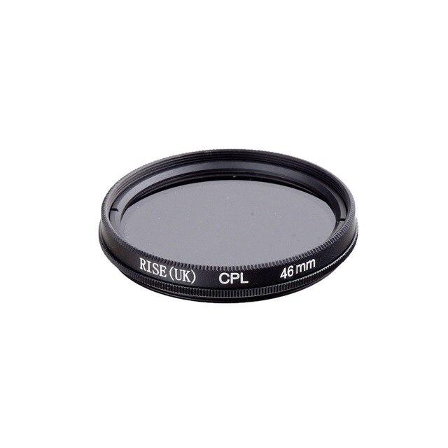 עלייה 46mm המקטב CPL C PL מסנן עדשת 46mm עבור Canon NIKON Sony אולימפוס מצלמה