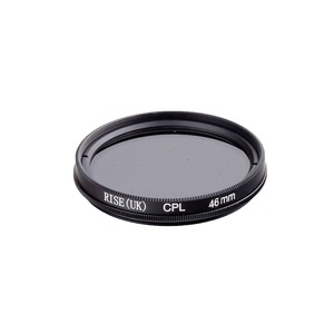 Image 1 - RISE 46mm Circulaire Polarisatiefilters CPL C PL Filter Lens 46mm Voor Canon NIKON Sony Olympus Camera