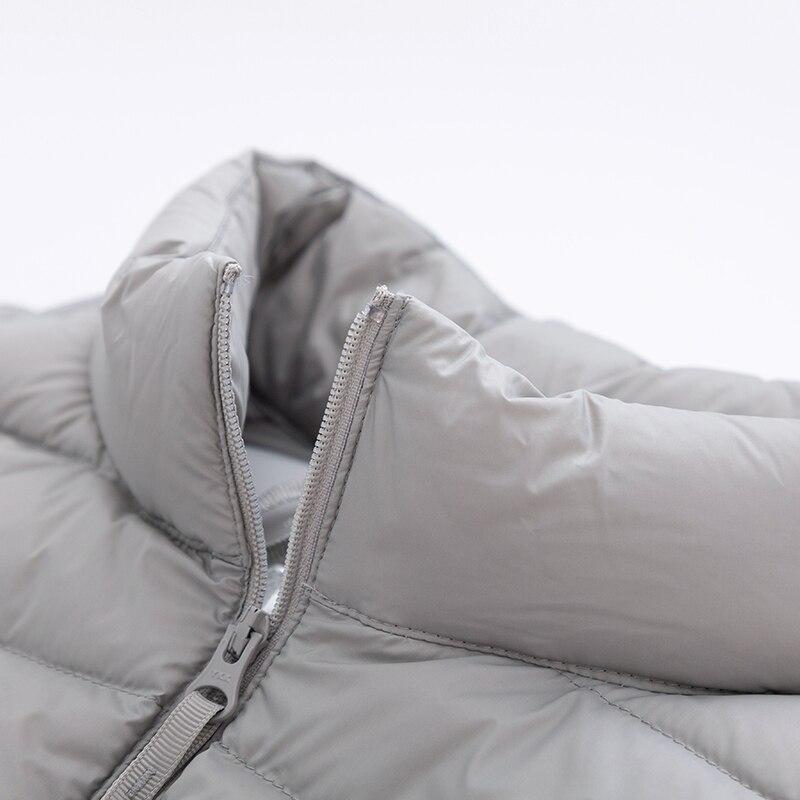 Image 4 - SEMIR Men Packable Puffer Vest with Stand up Collar Men Padded Vest Lightweight Down Vest for Men Zip up Vest Winter Clothes-in Vests & Waistcoats from Men's Clothing