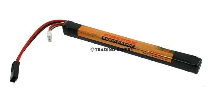 100% Orginal FireFox 11.1V 1200mAh 20C Li Po AEG Airsoft Battery L+HK register free shipping аккумулятор li po 11 1 вольт firefox в туле