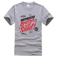 Better Call Saul 2019 летняя футболка с буквенным принтом модные Забавные футболки брендовая одежда футболка мужские топы