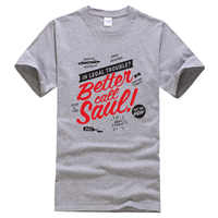Better Call Saul 2019 letter printed summer T-shirt Breaking Bad fashion funny t shirts brand clothing t shirt men kpop tops tee