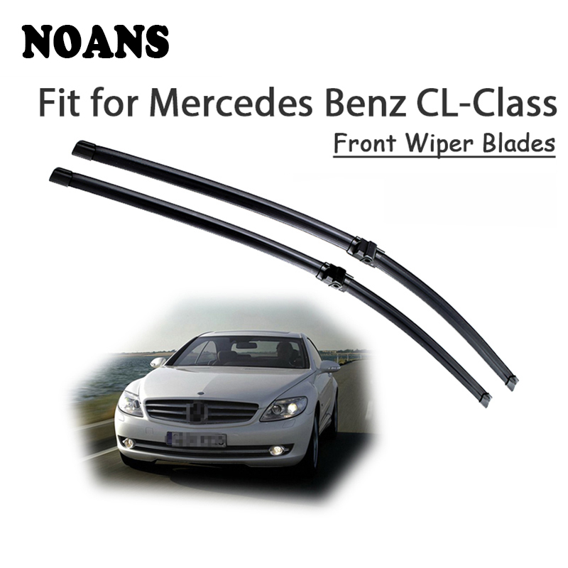 NOANS Car Styling Rubber Wiper Blade For <font><b>Mercedes</b></font> Benz <font><b>CL</b></font> Class W215 W216 <font><b>CL</b></font> <font><b>500</b></font> 55 63 65 Windshield Cleaning Accessories image