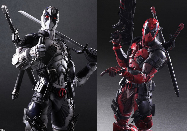 2 Version Deadpool Wade Winston Wilson Marvel Super Hero Bad Guy X-Force Square Enix Play Arts Kai 26cm Action Figure Toys x force volume 2