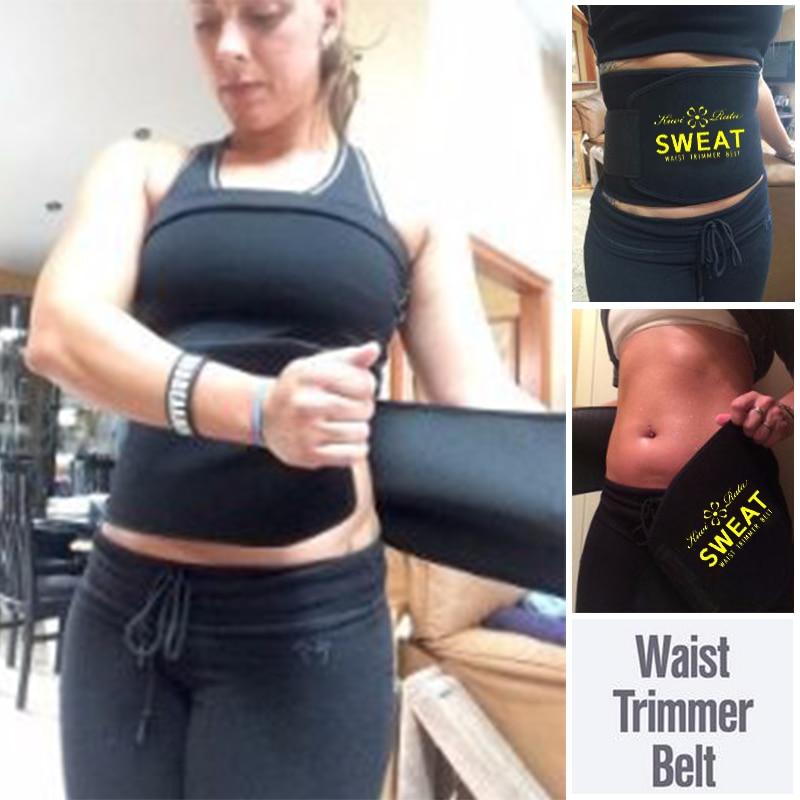 Waist Trimmer Belt for Weight Loss Women Men Waist Trainer Fat Burner Wrap Slimming Body Shaper