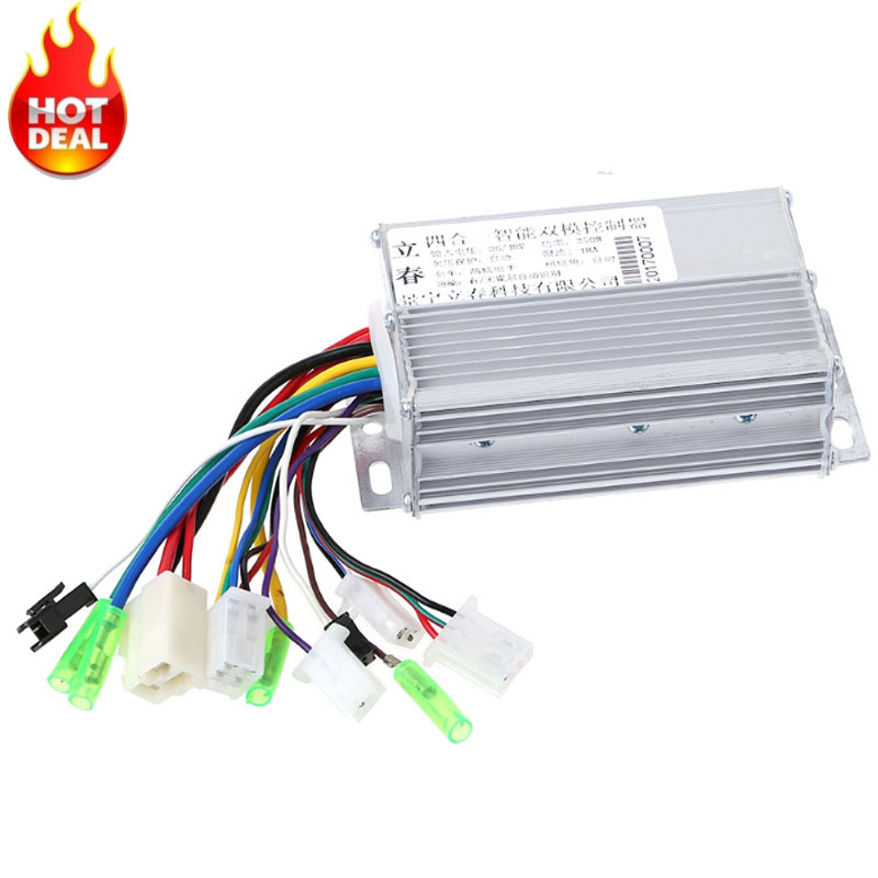 36V/48V 350W Electric Bicycle E-bike Scooter Brushless DC Motor Controller цена