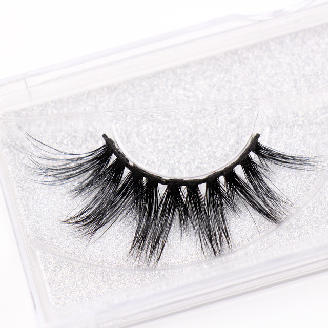 LEHUAMAO Eyelashes 3D Mink Eyelashes Criss-cross Strands Cruelty Free High Volume Mink Lashes Soft Dramatic Eye lashes E1 Makeup 1