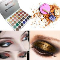 35 Color Eyeshadow Pallete Baking Mixer Color Shimmer Glitter Eye Shadow Powder Palette Matte Nude Makeup