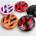 Para Novo Polo 6R 2014 GTI VW Logotipo Do Emblema Do Emblema da Marca Opção de Cor Grade Dianteira e Traseira Tampa Porta dos Fundos