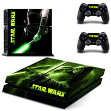 STAR WARS PS4 Skin Sticker Decal Cover of The Force Awakens For Sony PS4 PlayStation 4 Console and 2 controller skins