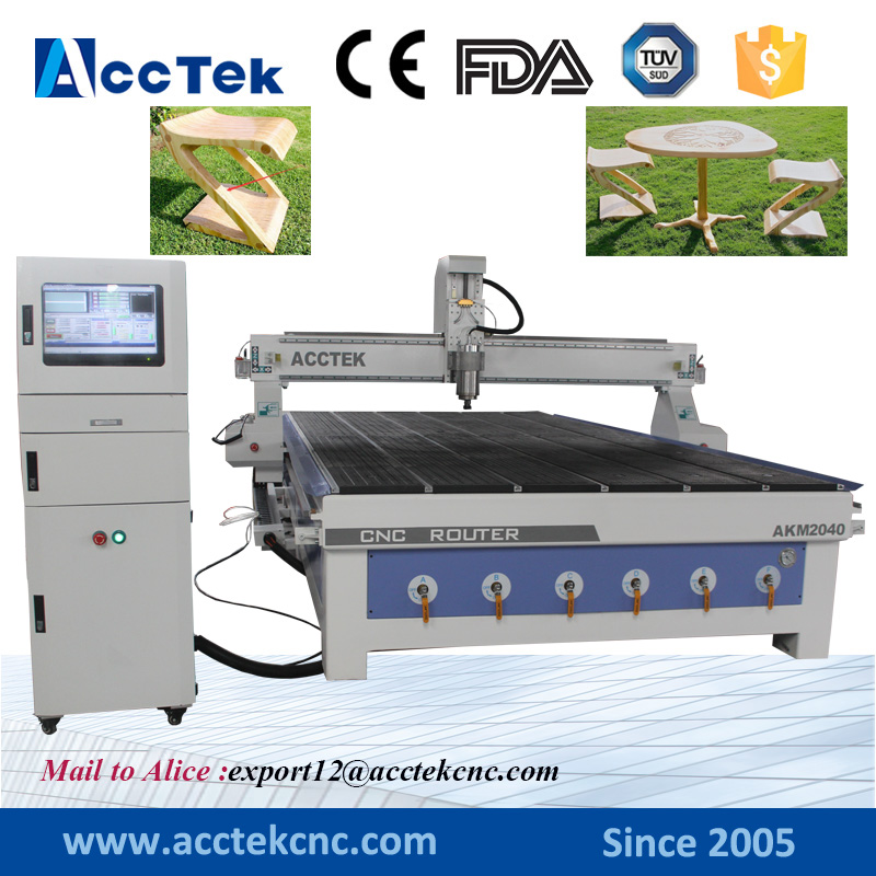 Acctek cnc 2040 2418 2417 wood working 3d relief stl model cnc cnc wood carving machine