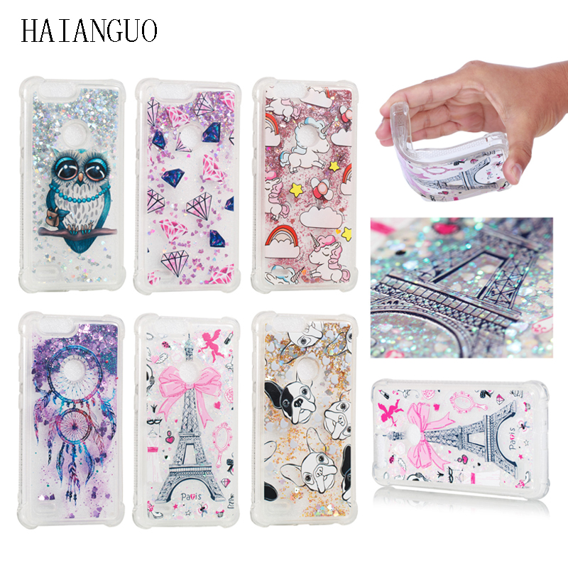 Phone Bags & Cases Qualified Haianguo Cases For Zte Sequoia/zte Blade Z Max/zte Zmax Pro 2 Z982 Cases Fashion Unicorn Dynamic Liquid Sand Quicksand Case Capa