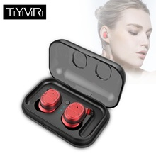 TWS 5.0 Wireless Headphones Bluetooth Earphones Sports Earbuds Stereo Bass Headset Mini with Microphone for Android IOS Phones стоимость