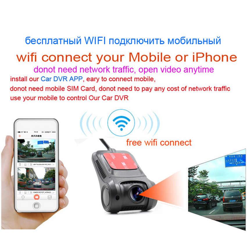 XCGaoon Wi Fi автомобильный dvr регистратор цифровой видео регистраторы тире камера 1080 P Ночь Версия Novatek 96658 объектив может вращаться 90 градусов