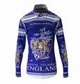 2016 Europa América Estilo Veleiro Imprimir da Longo-luva Camisa de Luxo Da Marca-roupas Camiseta Masculina Casual Camisas Dos Homens do Desenhador