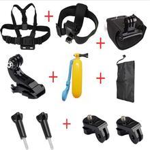 LANBEIKA For Gopro Accessories Wrist Belt Bobber Floating Chest Belt Head Strap Mount For Gopro Hero 5 4 3+ SJ6 S7 SJ5000 Eken
