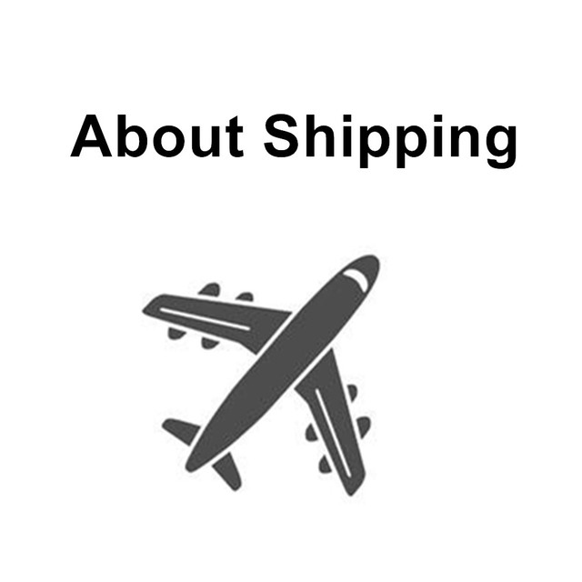 About Shipping way / Shipment