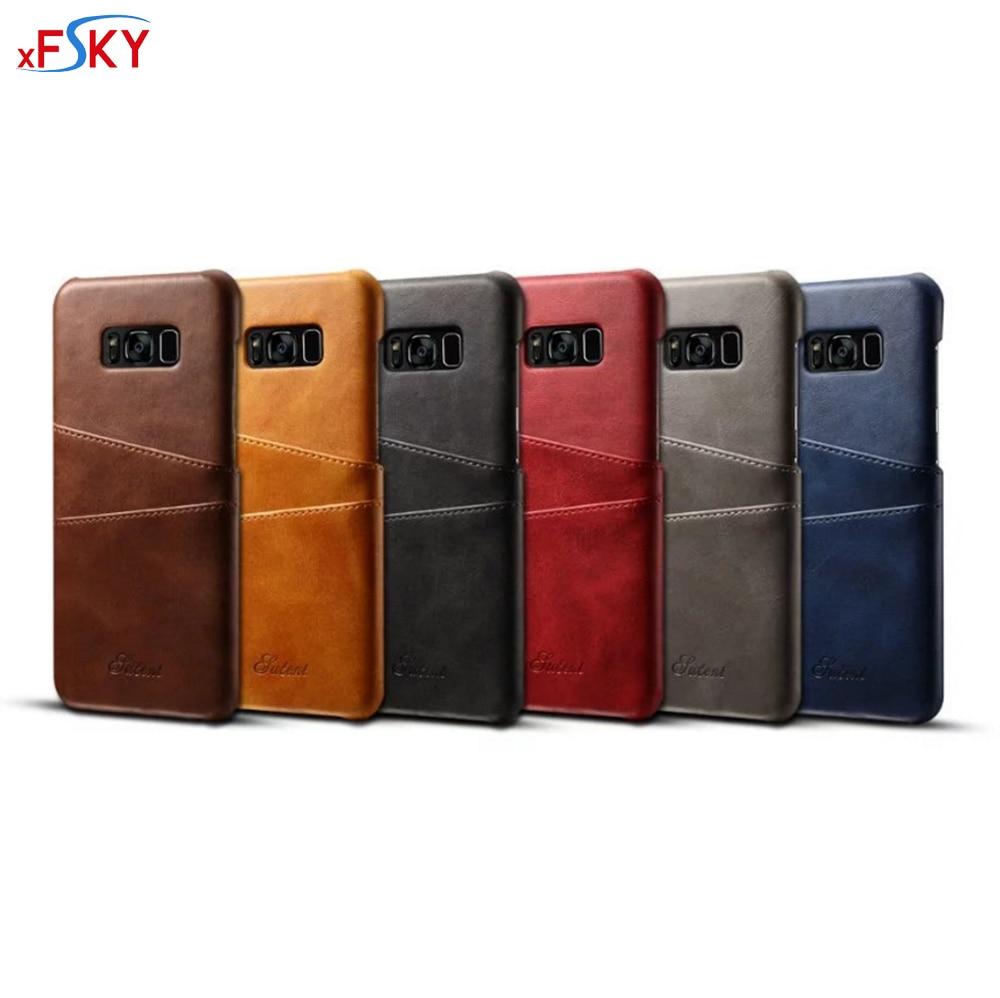 xFSKY Fodral för Sumsung S8 Fodral 6 färger Mode europeisk lyx - Reservdelar och tillbehör för mobiltelefoner