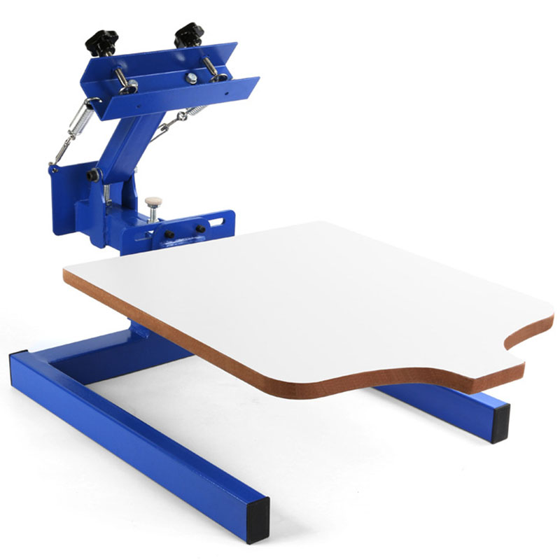 Buy manual 1 color 1 station t shirt for Screen printing machine for t shirts for sale
