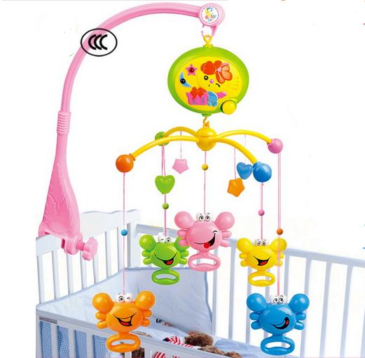 Hot Sale Baby Rattles In The Crib Baby Toys Spin Musical