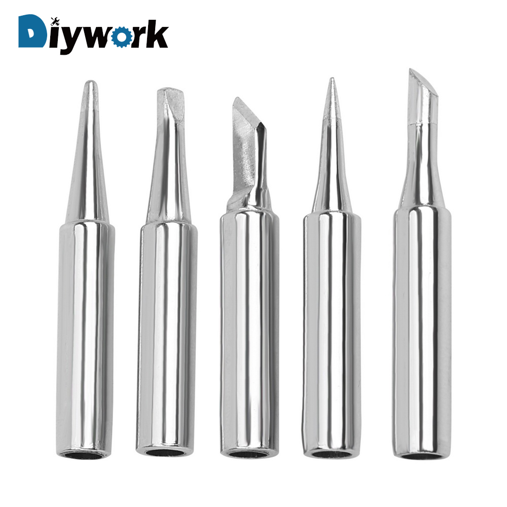 DIYWORK Welding Tip Soldering Supplies Replacement Lead-free Solder Iron Tip  900M-T 936