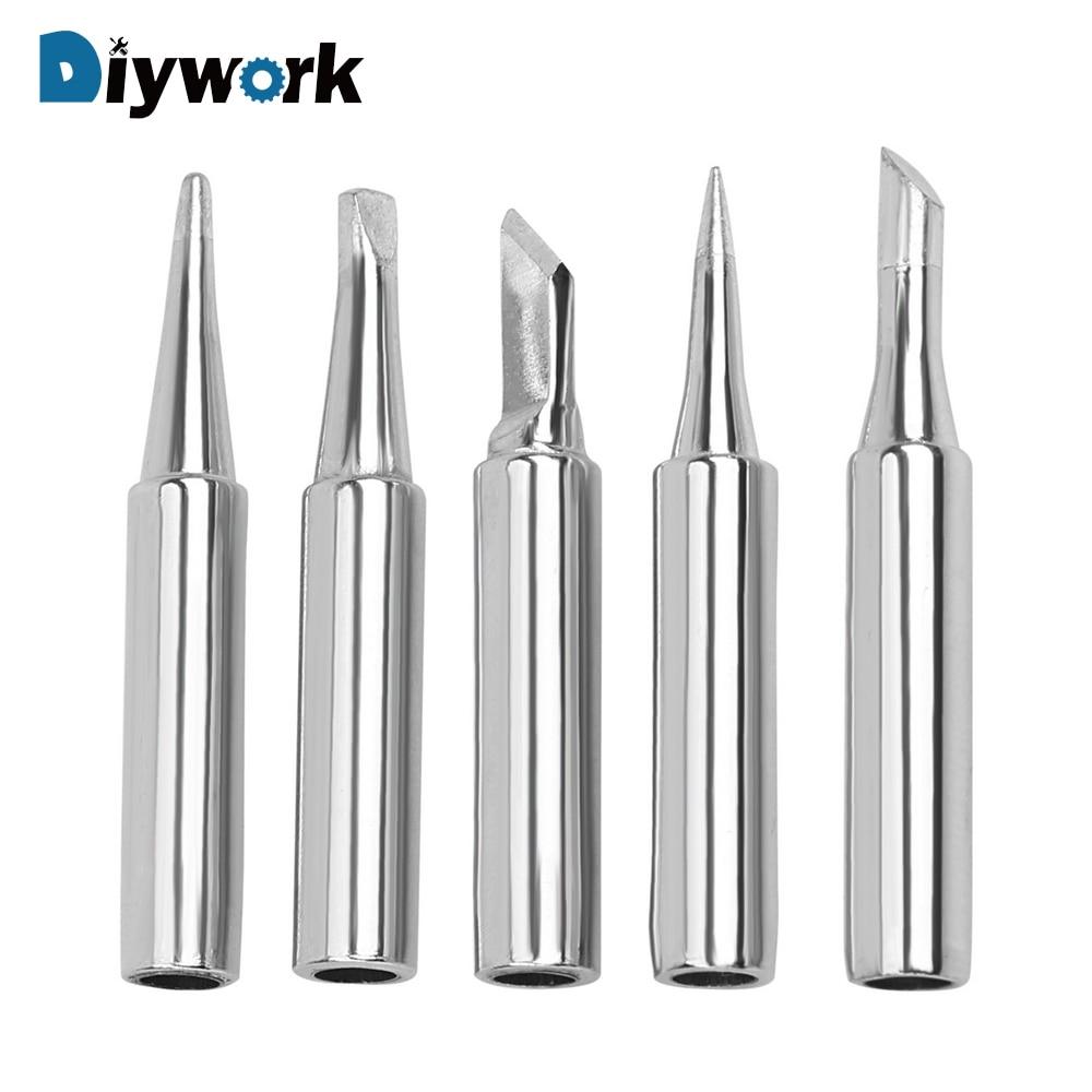 DIYWORK Welding Tip Soldering Supplies Replacement Lead-free Solder Iron Tip  900M-T 936