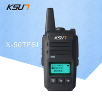 KSUN WCDMA National distance distance walkie talkie 50 km dual mode network digital walkie talkie car radio 6000mAh long standby