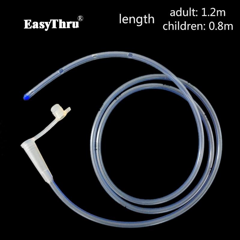 EasyThru 100 Silicone Medical Stomach Feediing Tube For Enteral Feeding Adult Size Fr12 Fr16 Fr18 E