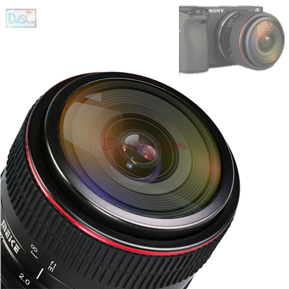 6.5mm 6.5 mm F2.0 F2 Manual Fisheye Lens for Sony E Mount NEX 3 3N 5 5N 5R 5T 6 7 A6300 A6000 A5100 A5000 ILCE 6000 Camera цифровой фотоаппарат sony alpha a6000 kit 16 50 mm f3 5 5 6 e oss pz gray