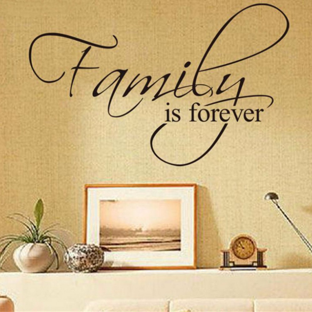 Unique Families Are Forever Wall Decor Sketch - The Wall Art ...