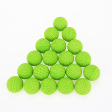 Pack of 20 Round Dart Refills Foam Bullets for Rival Zeus Apollo Nerf Toy Gun - 5 colors Mixed color 25