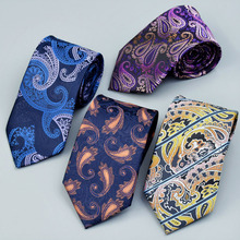 Classic 100% Silk Mens Ties New Design Neck 8cm Plaid&Striped for Men Formal Business Wedding Party Gravatas