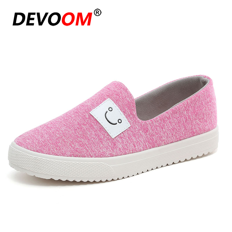 Fashion Womens Canvas Shoes Summer Breathable Slip on Casual Sneakers Ladies Platform Loafers for Woman Home Shoes Size 35-40 women flat shoes for 2018 spring summer fashion air mesh womens slip on loafers breathable comfortable walking shoes size 35 41