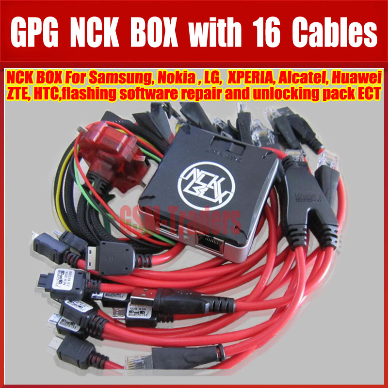 High Quality Newest Version 100% Original NCK Pro Box With 16 Cables Full
