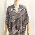 Genovega Brand Designer Scarf 2016 High Quality Oversized Women Shawl Stripes Dot Chiffon Large Pashmina For Female Beach Cover