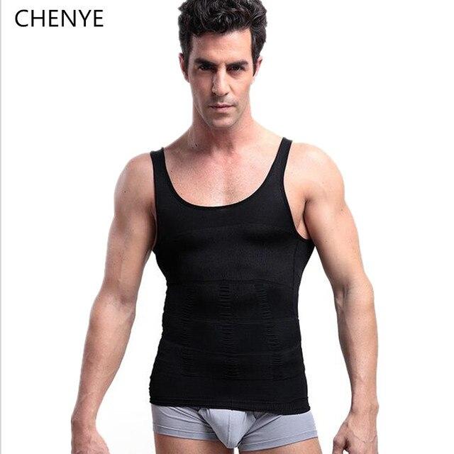 4827b14f0427b Hot male Body Shaper Vest Shapewear Slimming Waist and Tummy Control Shaper  Belt Underwear men fitness breathable corset tops