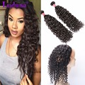 8A 360 Lace Frontal With Bundle Water Wave With Frontal Lace Frontal Closure With 2 Bundles Malaysian virgin Hair With Closure