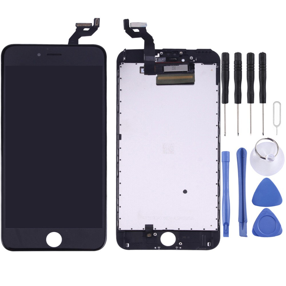 New Hot For iPhone 6s Plus LCD Screen with Front Camera and Digitizer Full Assembly with Front Camera for iPhone 6s Plus image