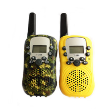 Buy Camouflage children mini walkie-talkie For PMR GMRS handheld tiny two Way Radio boy or girl toy Without battery 2 way radio directly from merchant!
