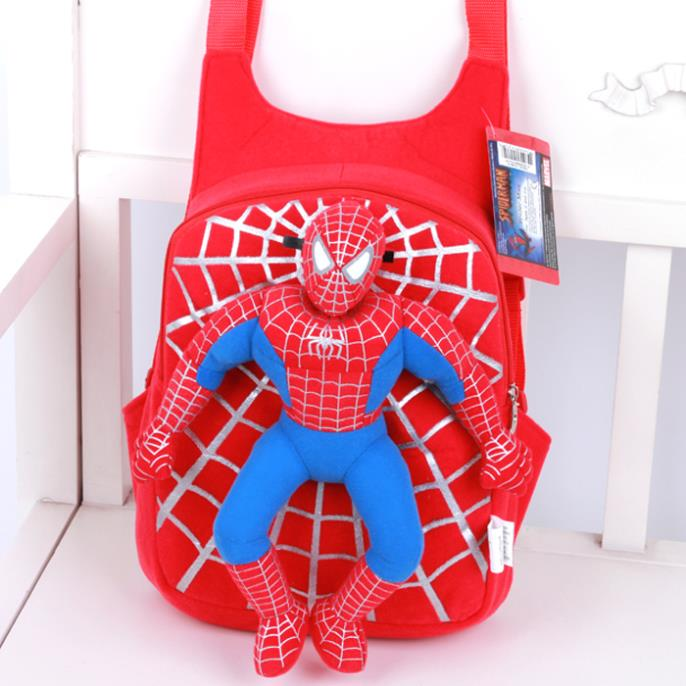 2016 Children school bags for girls cute cartoon bear spiderman infant backpack for boys schoolbags kids