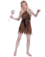 Leopard Dress Women Primitive Cosplay Costume Sexy Bavarian German Halloween Carnival Fancy Skirt For Ladies Female