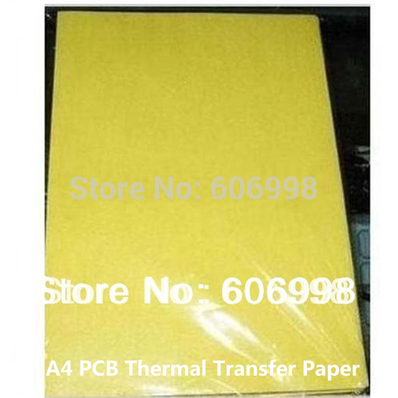 100pcs/lot PCB A4 Thermal Transfer Paper Circuit Board Making Thermal Transfer Paper
