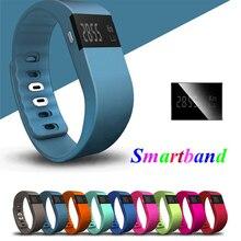 Хена Bluetooth SmartBand TW64 Шагомер фитнес-трекер Smart Браслет спорта браслет для IOS Android TW64 Смарт Браслет