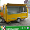 Long 280cm Mobile Food Carts Trailer Ice Cream Truck Snack Food Carts Customized Colors With Free