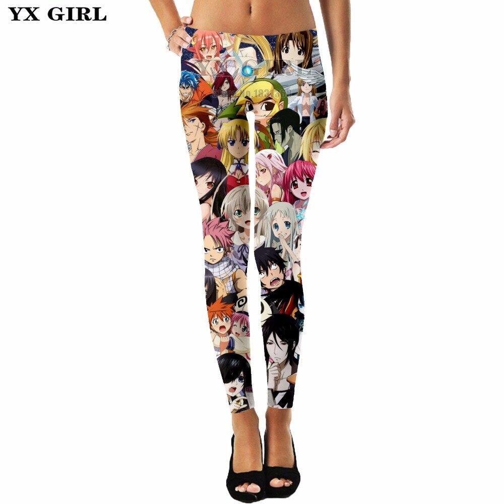 YX GIRL cute cartoon charters women
