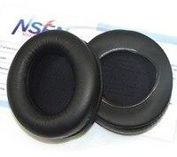 Wymiana Memory Foam Uszu podkładek Amortyzujących Earpads Ucha Kubki dla Philips L1/28 Fidelio Over-Ear Headphones-czarny